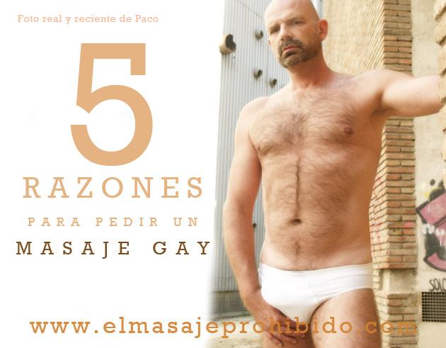 Pedir masaje gay